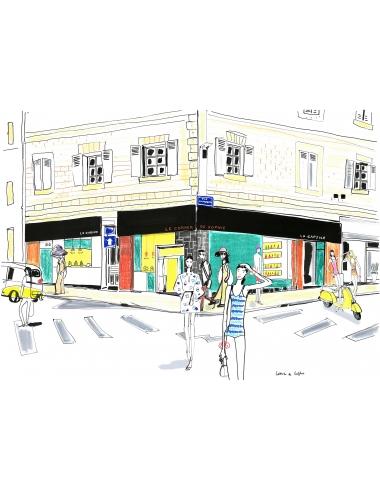 Carte Cadeau Cabine Manucure Beaute des pieds salon de coiffure corner de sophie biarritz