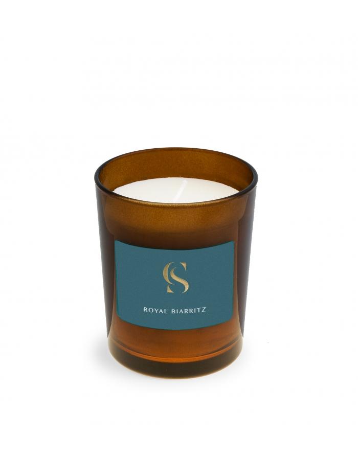 Royal biarritz bougie corner de sophie bois miel vegetale senteur
