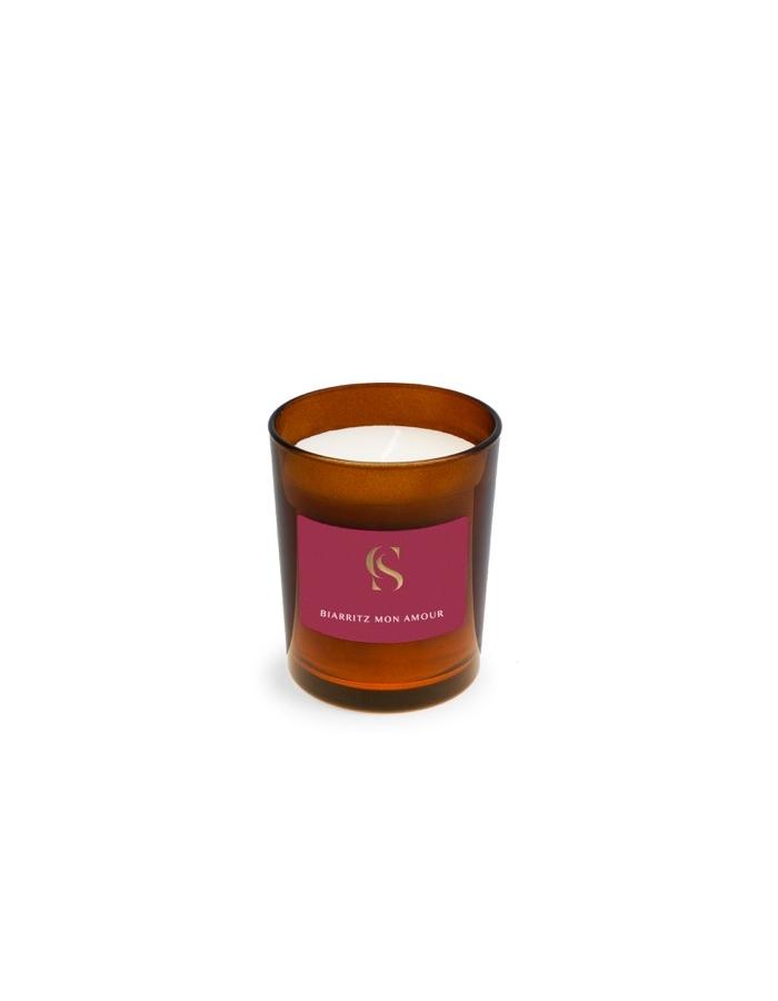 Biarritz mon amour bougie corner de sophie iris poudre ambre cire vegetale