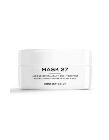 mask 27 cosmetics masque revitalisant hydratant detox repulpant eclat naturel