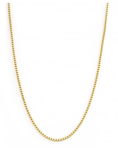 sautoir collier corner de Sophie biarritz creation bijoux dore acier