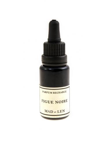 fiole recharge figue noire mad et len parfum d interieur artisanal francais pot pourri pierre lave corner de sophie biarritz