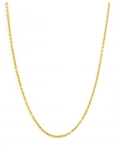 sautoir collier corner de sophie biarritz pvd dore cadeau fermoir attache