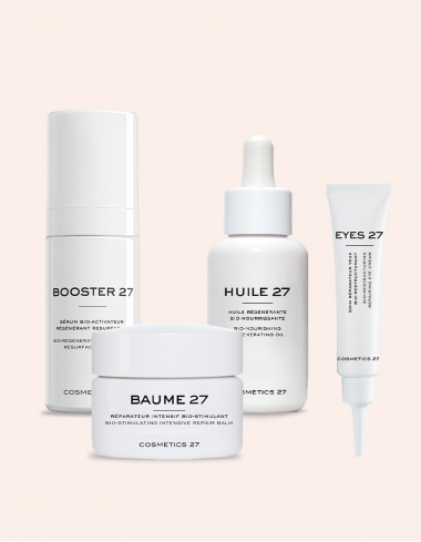 routine age control baume booster huile eyes cosmetics 27 soin visage naturel anti age corner de sophie biarritz