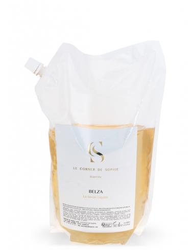 Recharge Belza Savon Liquide corner de sophie tonka ambre santal