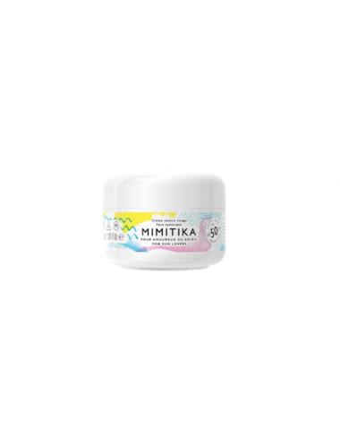 creme solaire visage mini format voyage spf50 soleil mimitika corner de sophie biarritz
