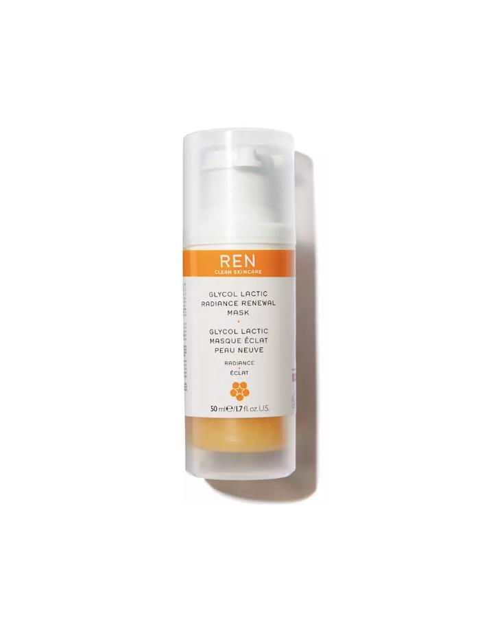 glycol lactic masque eclat peau neauve radiance ren skincare soin visage naturel vitamine bonne mine corner de sophie biarritz