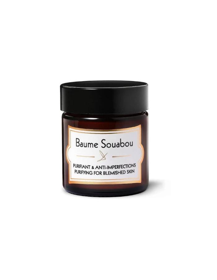Baume souabou creme matifiante anti imperfections boutons peau grasse purifie matifie acne delbove biarritz corner de sophie