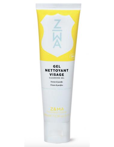 gel nettoyant visage bio purifiant agrumes aloe vera huile esssentielle z&ma corner de sophie biarritz marque francaise