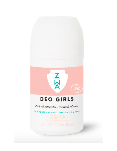 deodorant fille girls bio z&ma marque francaise the vert corner de sophie biarritz