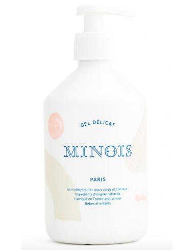 gel delicat lavant tres doux corps cheveux bebe enfant famille minois fleur d'oranger corner de sophie biarritz apaisant