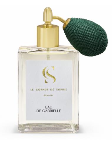 Eau de Gabrielle biarritz parfum le corner de sophie fleur d'oranger neroli eau de toilette