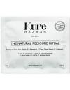 Kit pedicure ustensiles pieds kure bazaar bio naturel masque chaussette cuticules hydratant doux lime