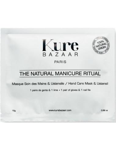kit manucure ustensible kure bazaar vernis mains naturel bio gant masque soin cuticules hydrate lime